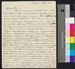 Digital surrogate of Mrs Edgeworth to Fanny Edgeworth - the legacies -…