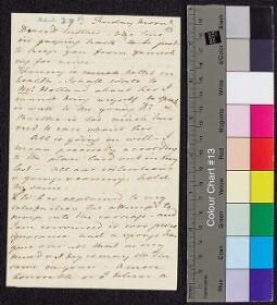 Digital surrogate of To Mrs Edgeworth - Fanny Edgeworth - fir cone…