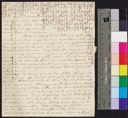 Digital surrogate of To Mrs Ruxton - garden - diary of Maria…