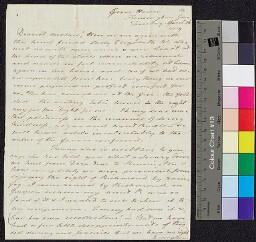 Digital surrogate of To Mrs Edgeworth from Kensington Gore - Fanny…