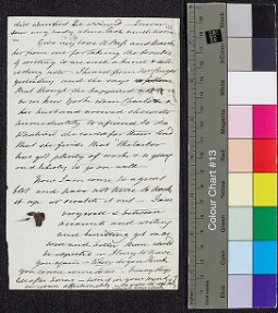Digital surrogate of To Margaret Ruxton? - fragment - Mrs Cruger…