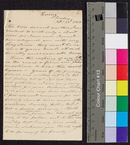 Digital surrogate of To Mrs Edgeworth from Epping - William Fletcher -…