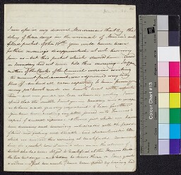 Digital surrogate of Fanny Wilson to Mrs Edgeworth - L.P. Wilson's…
