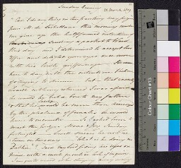 Digital surrogate of Mrs Edgeworth to Fanny Edgeworth (franked by Lord…