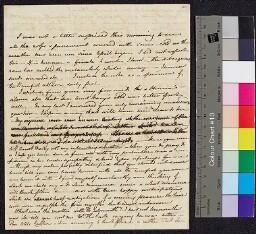 Digital surrogate of Fanny Wilson to Mrs Edgeworth - Thomas Edgeworth…