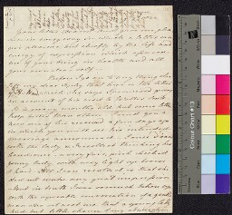 Digital surrogate of To Mrs Ruxton from Edgeworthstown - Dr Holland's…