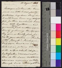 Digital surrogate of Mrs Edgeworth to Charles (Sneyd) Edgeworth and…