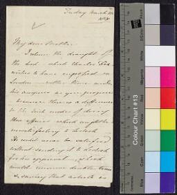 Digital surrogate of Honora Edgeworth to Mrs Edgeworth - William…