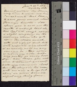 Digital surrogate of To Mrs Edgeworth from Byrkley Lodge - Fanny…