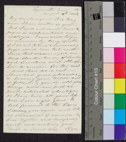 Digital surrogate of To Margaret Ruxton from Edgeworthstown - Maria…