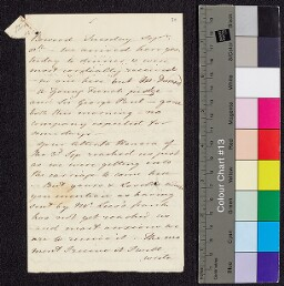 Digital surrogate of To Mrs Edgeworth from Bowood - letters -…