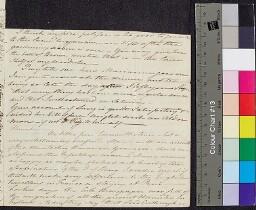 Digital surrogate of Mrs Edgeworth to Fanny Edgeworth - (probably part…