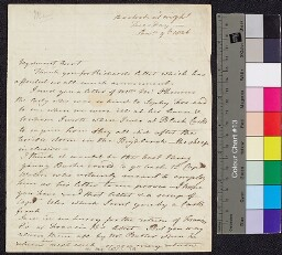 Digital surrogate of To Mrs Ruxton - William Edgeworth's work impeded…