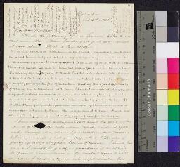 Digital surrogate of William Edgeworth to Mrs Edgeworth - Francis…