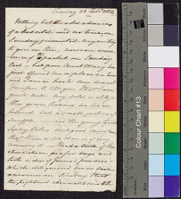 Digital surrogate of Mrs Edgeworth to Fanny Edgeworth - marriage for…