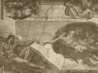 Adolphe Braun Photographs of the Sistine Chapel Frescoes