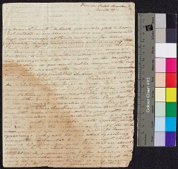 Digital surrogate of Maria Edgeworth to Mrs Ruxton from Place Bourbon…