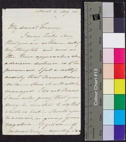 Digital surrogate of Mrs Edgeworth to Fanny Edgeworth - fragment - the…