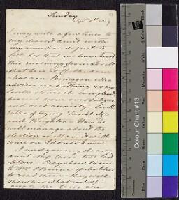 Digital surrogate of To Mrs Ruxton - Lovell Edgeworth at Cheltenham -…