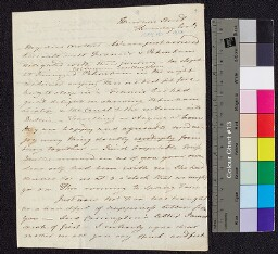 Digital surrogate of To Mrs Edgeworth - also signed by Honora, note…