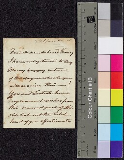 Digital surrogate of Mrs Edgeworth to Fanny Wilson
