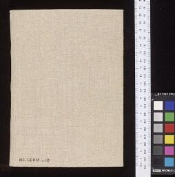Bodleian Library MS. Germ. e. 10
