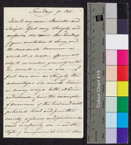 Digital surrogate of Mrs Edgeworth to Charles (Sneyd) Edgeworth and…