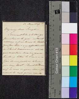 Digital surrogate of Mrs Edgeworth to Charles (Sneyd) Edgeworth -…