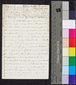 Digital surrogate of To Margaret Ruxton (in hand of Fanny W) -…