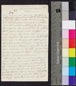 Digital surrogate of To Mrs Ruxton from Merrion Street - Harriet…