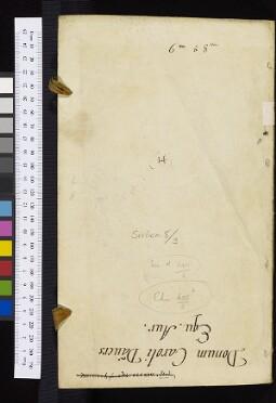 Bodleian Library Sinica 8/3