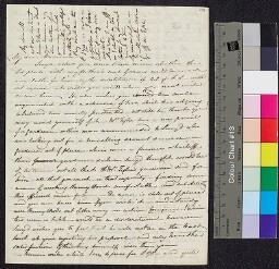 Digital surrogate of Fanny Wilson to Mrs Edgeworth - Richard Lovell…